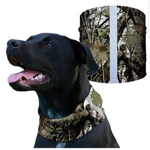 SA SNOW FOREST CAMO Dog Shield Bandana Scarf